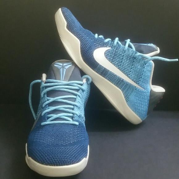 new style cea5f 3ea0b NIKE KOBE 11 ELITE LOW BRAVE BLUE MEN S SHOES. M 5bc00f363c98449fbdb345f6